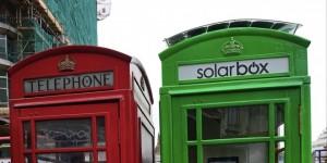 Cabinas telefónicas solares
