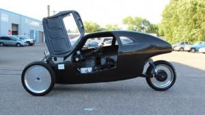 Rath Racer el coche ecologico con pedales